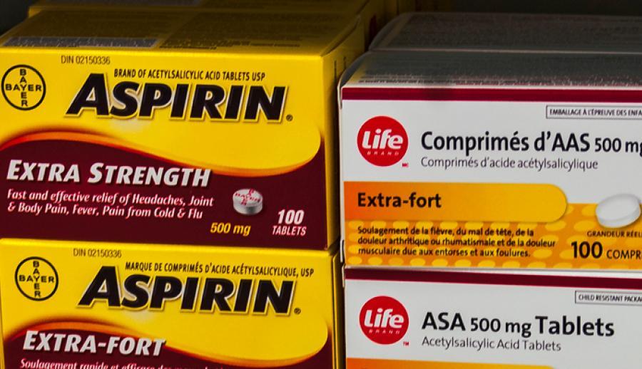 Низкие дозы аспирина снижают риск развития рака печени