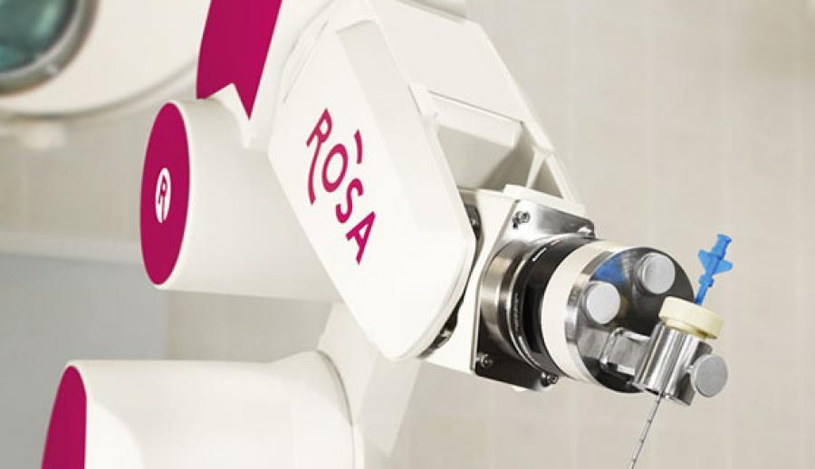 Эразм – первая бельгийская больница, которая приобрела хирургический робот «ROSA»