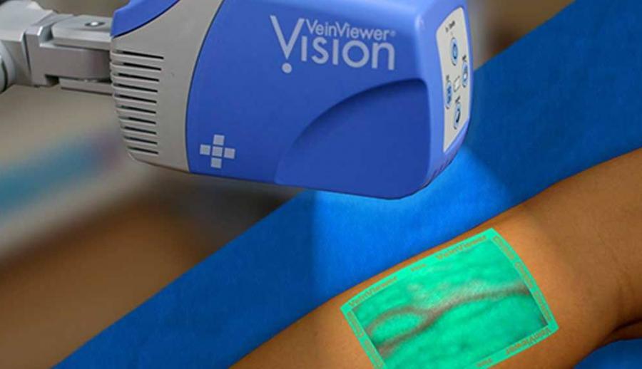 В больницах Бельгии внедряют систему визуализации венозного рисунка VeinViewer