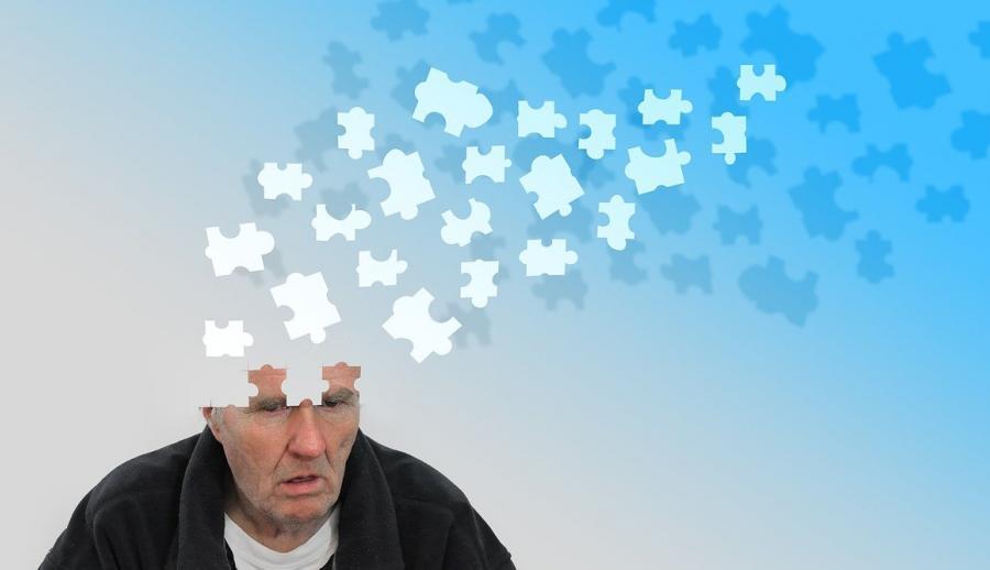 Иллюстрация дегенерации головного мозга