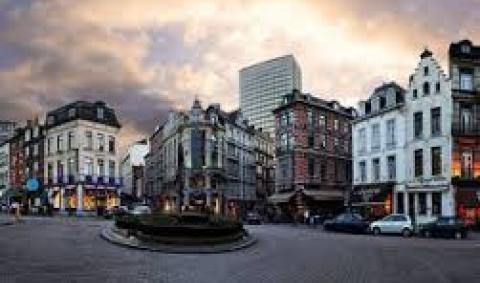 Достопримечательности в Брюсселе. Площадь Саблон - Place Sablon