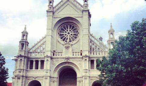 Достопримечательности в Брюсселе. Площадь Св. Катерины - Place Saint Catherine