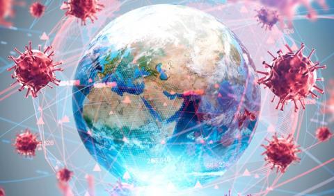 Вирусы и земной шар